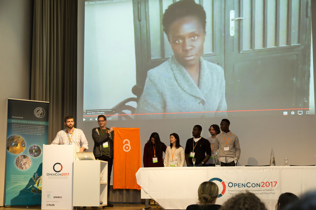 Eary Career Researchers from Max Planck Institutes share their impressions from OpenCon 2017