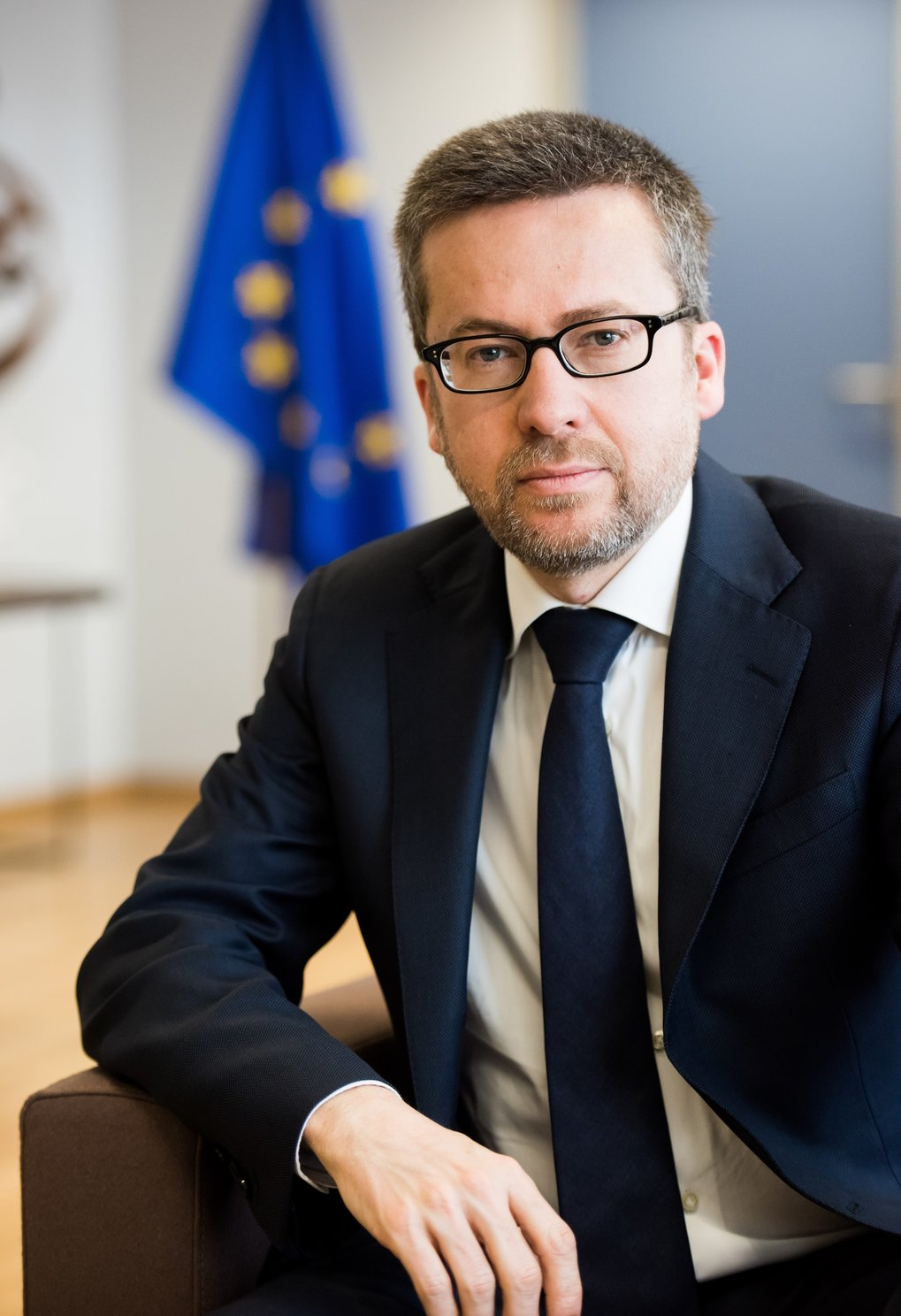 Carlos Moedas, European Commissioner for Research, Science and  Innovation